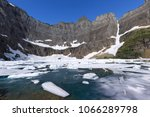 iceberg lake  glacier national... | Shutterstock . vector #1066289798
