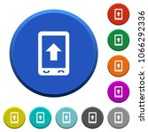 mobile scroll up round color... | Shutterstock .eps vector #1066292336