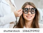 young pretty patient wearing... | Shutterstock . vector #1066293902