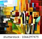 Tulips. Abstraction In The...