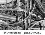 light horse interchange between ...   Shutterstock . vector #1066299362