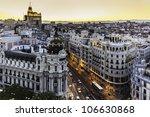 panoramic aerial view of gran... | Shutterstock . vector #106630868