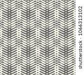 abstract monochrome broken... | Shutterstock .eps vector #1066313102