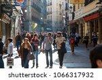 madrid  spain   march 7  2015 ... | Shutterstock . vector #1066317932