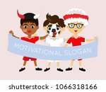 fan of england national... | Shutterstock .eps vector #1066318166