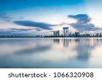 suzhou architecture scenery | Shutterstock . vector #1066320908