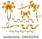 set of decorative beautiful... | Shutterstock .eps vector #1066322342