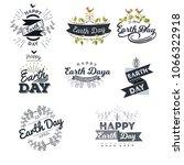 april 22 world earth day.... | Shutterstock .eps vector #1066322918