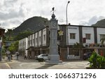 victoria  seychelles   july 7 ... | Shutterstock . vector #1066371296