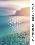 flower of life   the... | Shutterstock .eps vector #1066377935