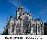 Facade Of St. Giles Cathedral ...