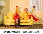 retro styled beautiful girls in ...   Shutterstock . vector #1066393226
