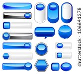 vector illustration of set of... | Shutterstock .eps vector #106641278