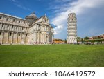 cathedral building with the... | Shutterstock . vector #1066419572