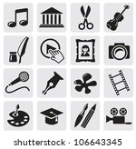 art culture icon | Shutterstock .eps vector #106643345