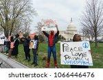washington  dc   usa april 11 ... | Shutterstock . vector #1066446476