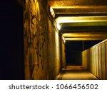 underpass illuminated at night   Shutterstock . vector #1066456502