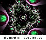 abstract modern background with ... | Shutterstock . vector #1066458788