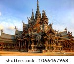 Sanctuary Of Truth  Thailand.