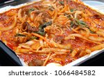 stir fried octopus  nakji... | Shutterstock . vector #1066484582