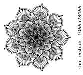 mandalas for coloring book.... | Shutterstock .eps vector #1066528466