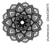 mandalas for coloring book.... | Shutterstock .eps vector #1066528475