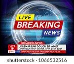 background screen saver on...   Shutterstock .eps vector #1066532516