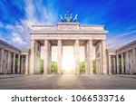 brandenburg gate  berlin | Shutterstock . vector #1066533716