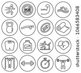 editable stroke. simple set of... | Shutterstock .eps vector #1066583408