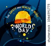 vector concept of the world day ... | Shutterstock .eps vector #1066591775