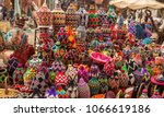 the souks  marrakesh  morocco | Shutterstock . vector #1066619186