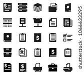 flat vector icon set  ... | Shutterstock .eps vector #1066633295