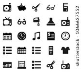 flat vector icon set   mixer...