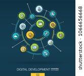 abstract development ... | Shutterstock .eps vector #1066656668