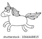 cute illustration of the... | Shutterstock .eps vector #1066668815