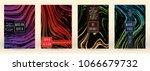modern marble cover design for... | Shutterstock .eps vector #1066679732