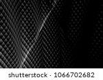 checkered wavy texture... | Shutterstock . vector #1066702682