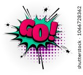 go yes hand drawn pictures... | Shutterstock .eps vector #1066728362
