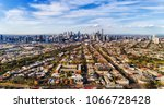 leading streets and residential ... | Shutterstock . vector #1066728428