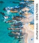 arrawarra beach sunset   Shutterstock . vector #1066743086