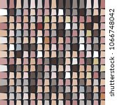 mosaic vector background.... | Shutterstock .eps vector #1066748042