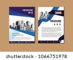 business abstract vector... | Shutterstock .eps vector #1066751978
