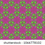 beautiful geometric ornament.... | Shutterstock .eps vector #1066778102