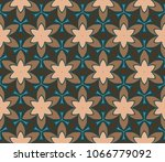 pattern of abstract geometric... | Shutterstock .eps vector #1066779092
