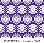 seamless texture on color... | Shutterstock .eps vector #1066787525
