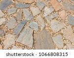 texture of stone floor...   Shutterstock . vector #1066808315