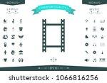 camera roll  photographic film  ... | Shutterstock .eps vector #1066816256