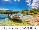 azmak stream view in akyaka... | Shutterstock . vector #1066821035