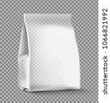 food snack pillow bag on... | Shutterstock .eps vector #1066821992