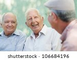 Постер, плакат: Active retirement group of